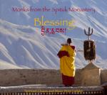 Monks from the Spituk Monastery - Blessing